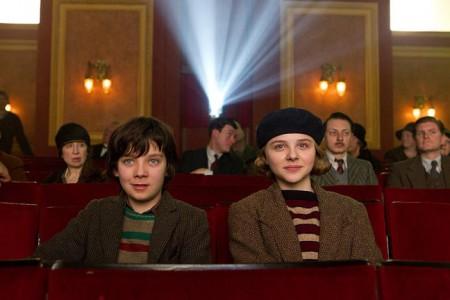 Asa Butterfield and Chloë Grace Moretz in 'Hugo'